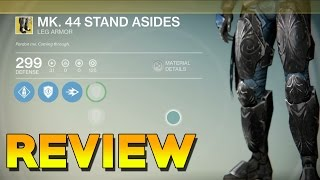DESTINY MK 44 STAND ASIDES REVIEW! Destiny Exotic MK 44 Stand Asides Boots Gameplay Review