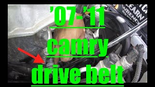 i see cracks [drivebelt] replacement Toyota Camry√ fix it angel