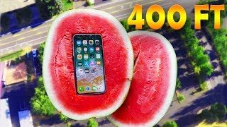 Can Watermelon Protect iPhone X from 400 FT Drop Test?