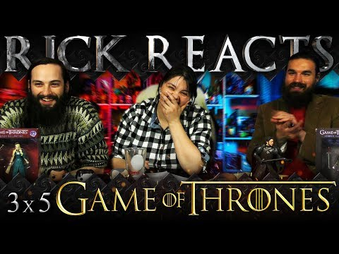 """RICK REACTS: Game of Thrones 3x5 """"Kissed by Fire"""""""