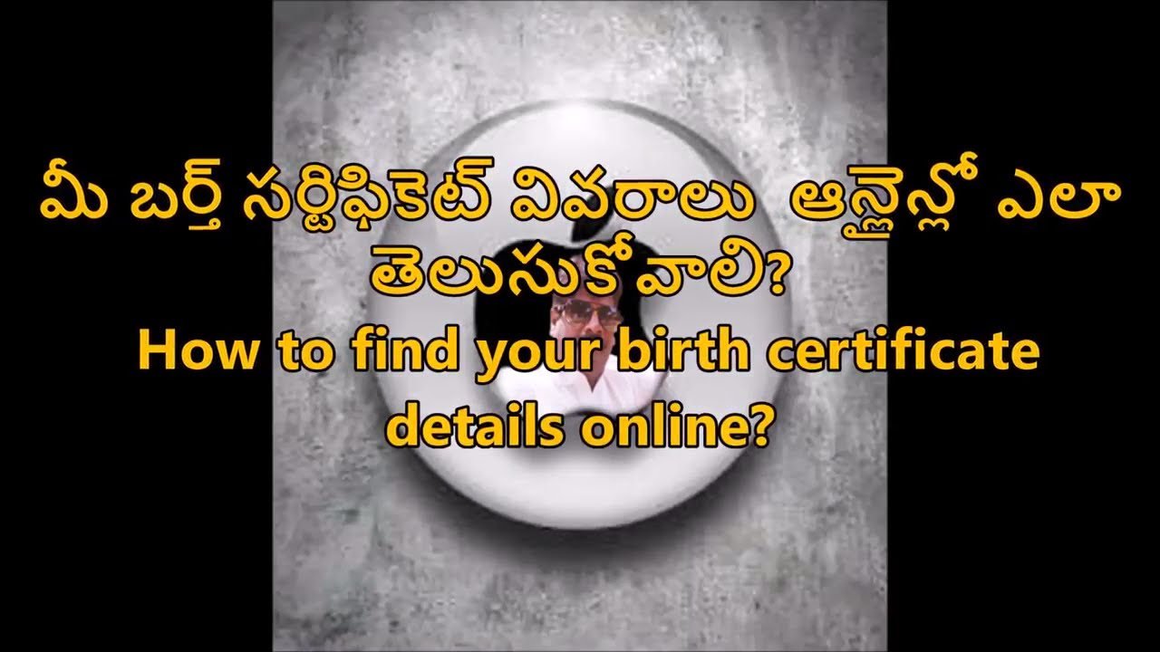 How To Find Your Birth Certificate Details Online