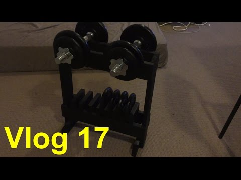 [DIY]Vlog 17: Making Dumbbell Rack 製作啞鈴架