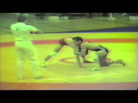 1988 Senior European Championships: 57 kg Rolf Monschau (FRG) vs. Zoran Sorov (YUG)