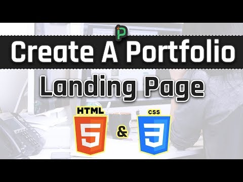Let's Create A Portfolio Landing Page For Devs (HTML And CSS)
