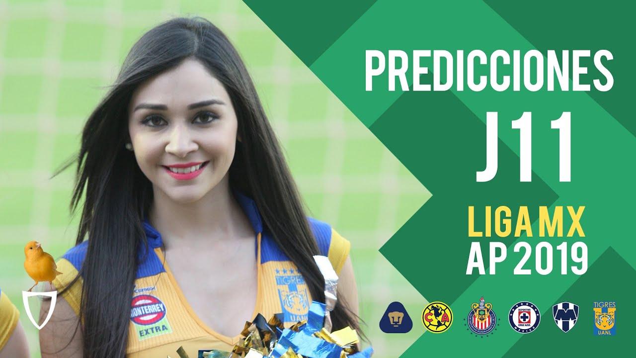 Predicciones Jornada 11 Liga MX Apertura 2019 ⚽️   Pronóstico Liga MX   Quiniela Futbol Sep. 2019