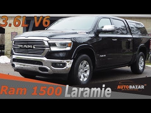 2019 Ram 1500  Laramie 3.6L V6 ETorque видео. Тест Драйв Рам 1500 2019 Laramie 3.6L V6 на русском.