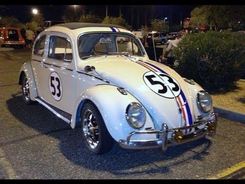1964 Volkswagen Beetle #53 Herbie Fully Loaded, Movie Car Replica