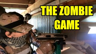 THE ZOMBIE GAME - Airsoft FPS Action @ Fife Wargames (KWA MP9)
