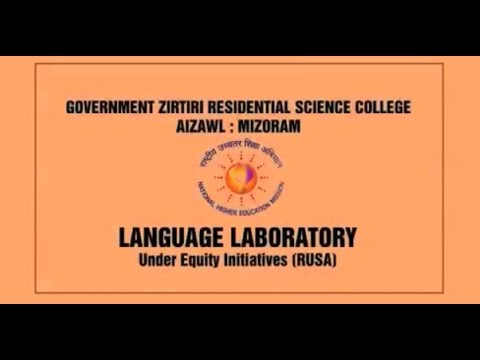 Inauguration of Language Laboratory Govt. Zirtiri Residential Science College, Aizawal, under RUSA