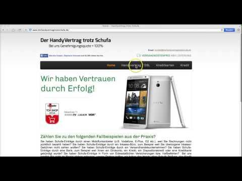 Review & Erfahrungsbericht Handyvertrag trotz Schufa