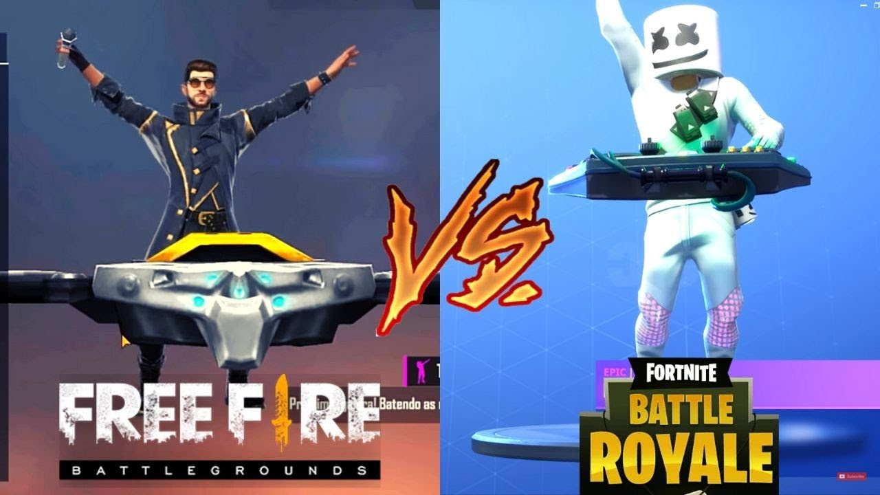 Emotes De Free Fire Vs Emotes De Fortnite 2020 Youtube