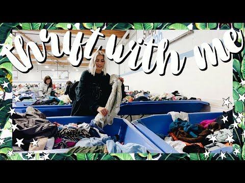 Come Thrift With Me | UNDER $1 Thrift Haul | Try On Goodwill Outlet Haul
