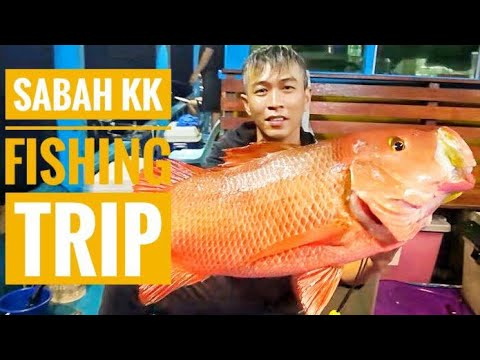 Sabah KK Fishing Trip / Slow Jigging / Bottom Fishing / Ryu Chiang / 关丹烂钓俱乐部