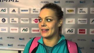 Sandra Perkovic looking to celebrate Diamond Trophy victory then prepare for 2016 Diamond Race