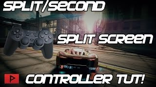 How To Use PC or PS2 USB Controller for Split Second in Split Screen Mode