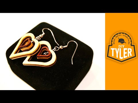DIY Wooden Earrings