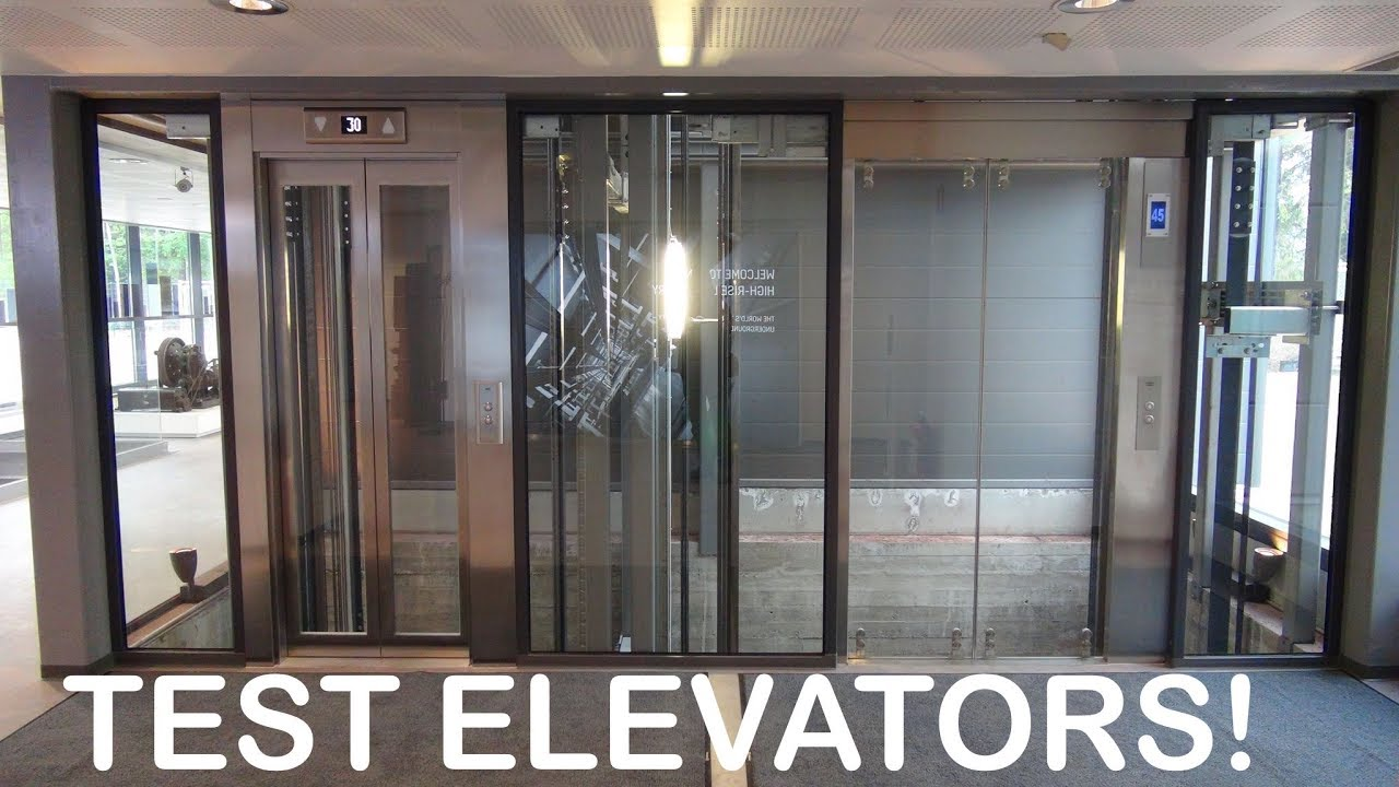 Awesome KONE Monospace elevators at KONE High Rise Laboratory Tytyri Finland (test tower) & Awesome KONE Monospace elevators at KONE High Rise Laboratory Tytyri ...