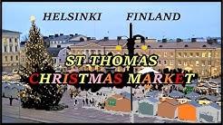 Helsinki St Thomas Christmas Market (Tuomaan Markkinat) 2018