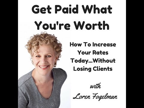 Get Paid What You're Worth Webinar
