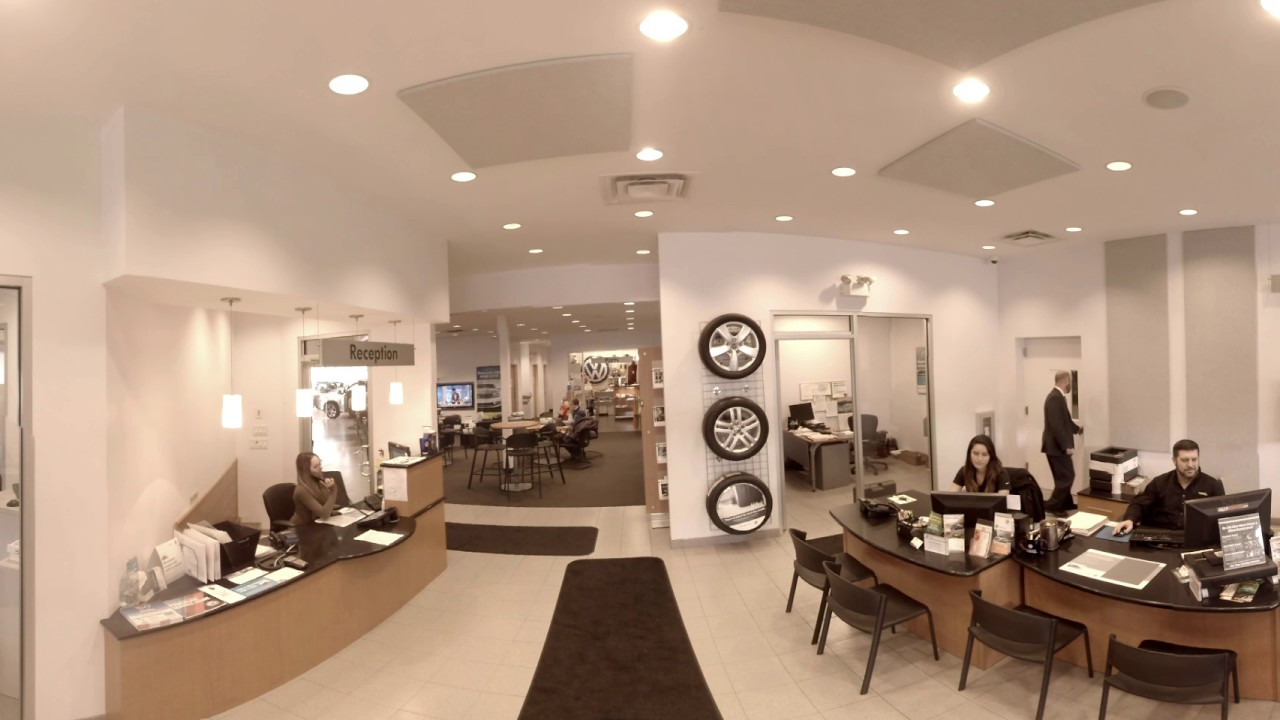 Trend Motors Volkswagen Service Department 360 Video With