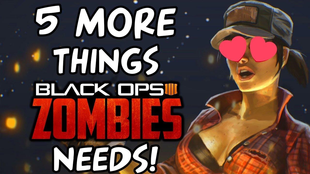 Bo4 Zombie Wallpaper: MISTY RETURNS IN BLACK OPS 4 ZOMBIES?! + 5 MORE Things BO4