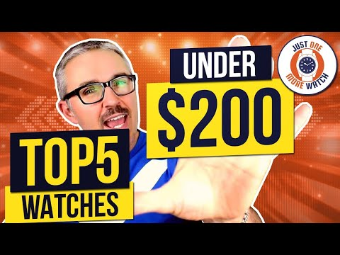 026639860 Top 5 Best Value Watches Under $200 - Seiko, Tissot, Orient, Certina ...