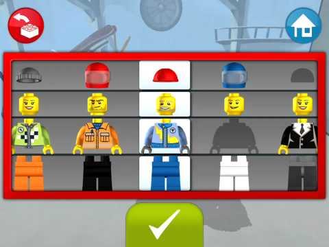 Lego Juniors! Лего Игры! МАШИНЫ С НОГАМИ! Фантастика! Серия 11! Лего для малышей!