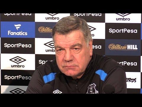 Sam Allardyce Full Pre-Match Press Conference - Stoke v Everton - Premier League