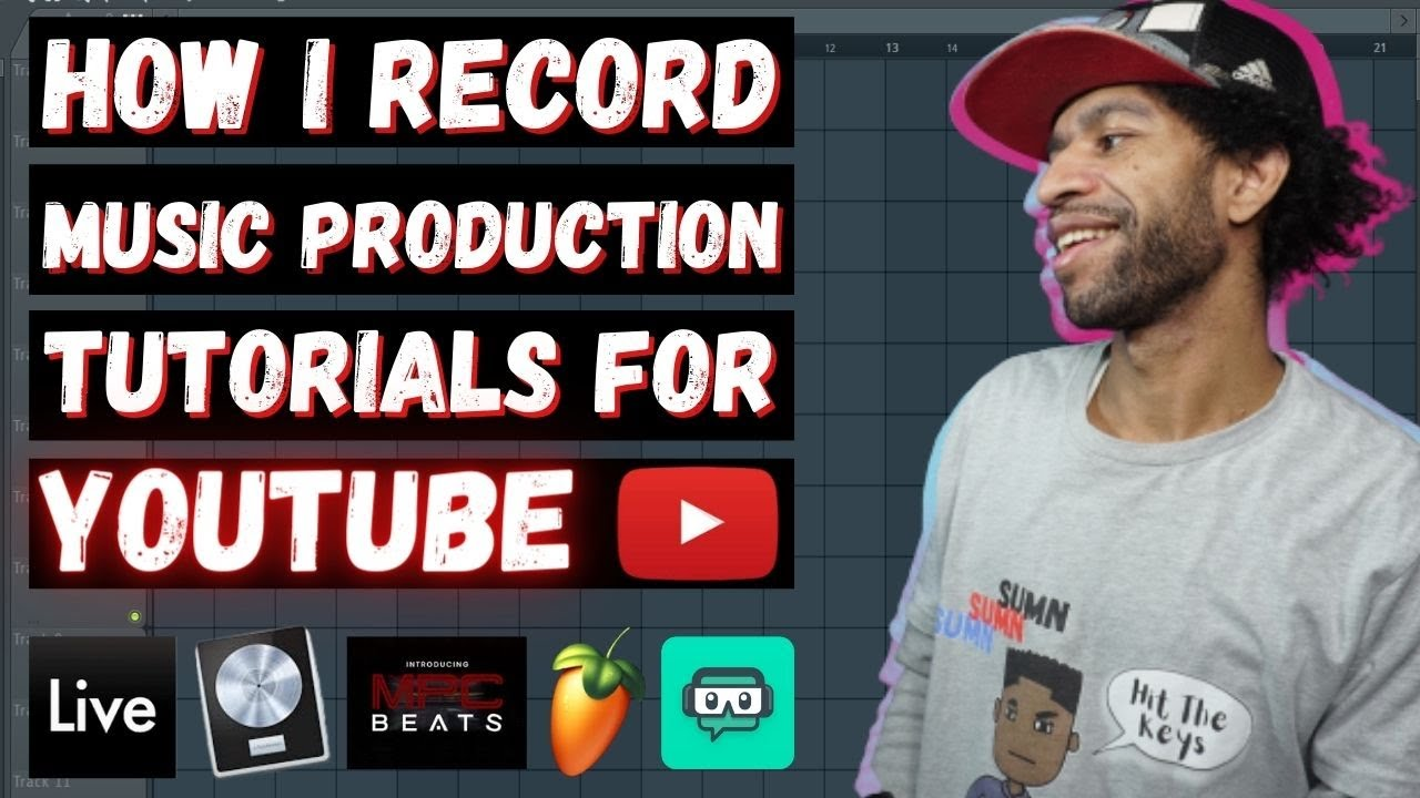 How I Record Music Production Tutorials For Youtube Youtube