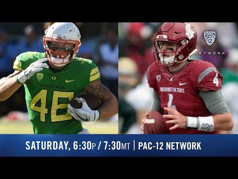 Oregon-Washington State football game preview