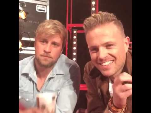 Nicky Byrne and Kian Egan Live Chat on The Voice of Ireland's Facebook (24.04.16)