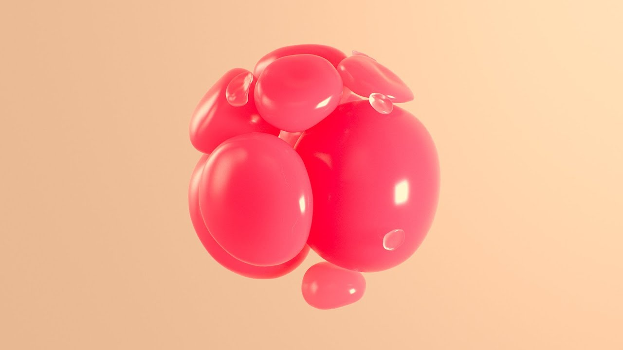 C4D Abstract Swirling Softbody - Cinema 4D Tutorial (Free Project)