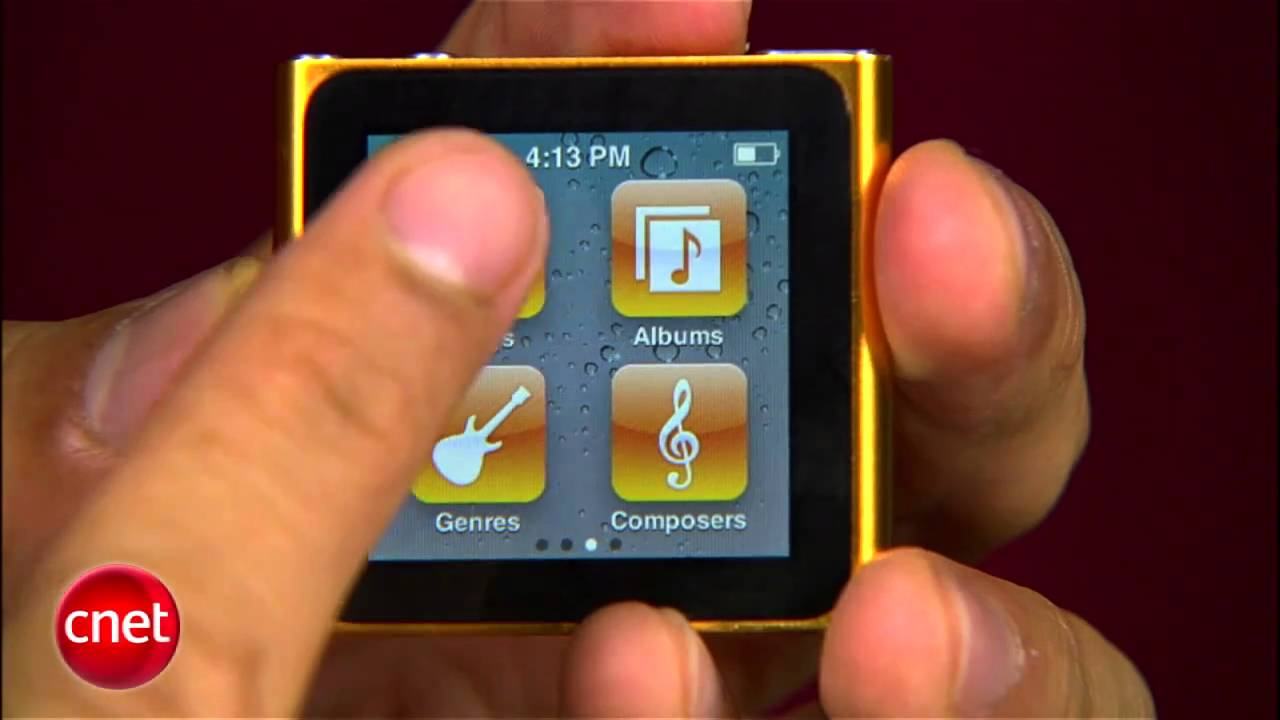cnet prizefight apple ipod nano vs sansa clip youtube