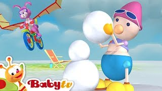 Playground of Toys #2 | The Ball Game, Hot Air Balloon & More Kids Toys | BabyTV