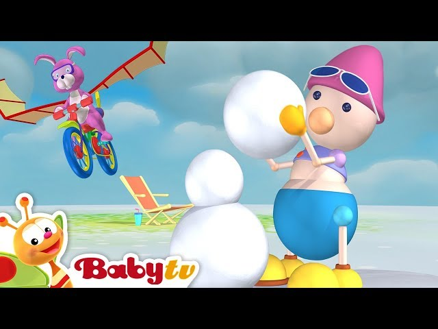 Playground of Toys #2   The Ball Game, Hot Air Balloon & More Kids Toys   BabyTV