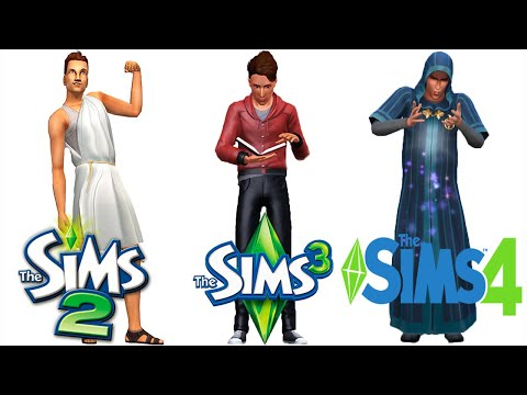 Sims 2 vs Sims 3 vs Sims 4 : University (Part 2) thumbnail