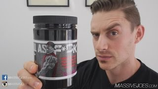 Rich Piana 5% Nutrition FULL AS F*CK Pump Supplement Review - MassiveJoes.com Raw Review
