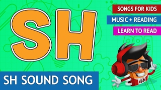 Sh Sound Song | Phonics Songs for Kids