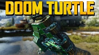Crossout 4 Tracked DOOM TURTLE (Crossout Gameplay)