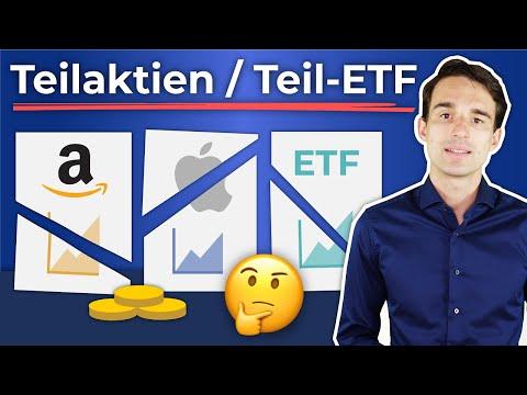 Teilaktien & Teil-ETF erklärt! So kaufst du Bruchstücke von teuren Aktien | Finanzfluss