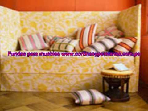 Fundas para sofas lima peru youtube - Fundas elasticas para sillones ...
