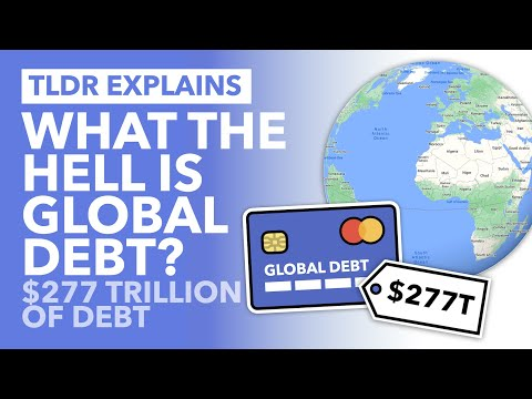 $277,000,000,000,000 of Global Debt: Who Owes it & To Whom? – TLDR News