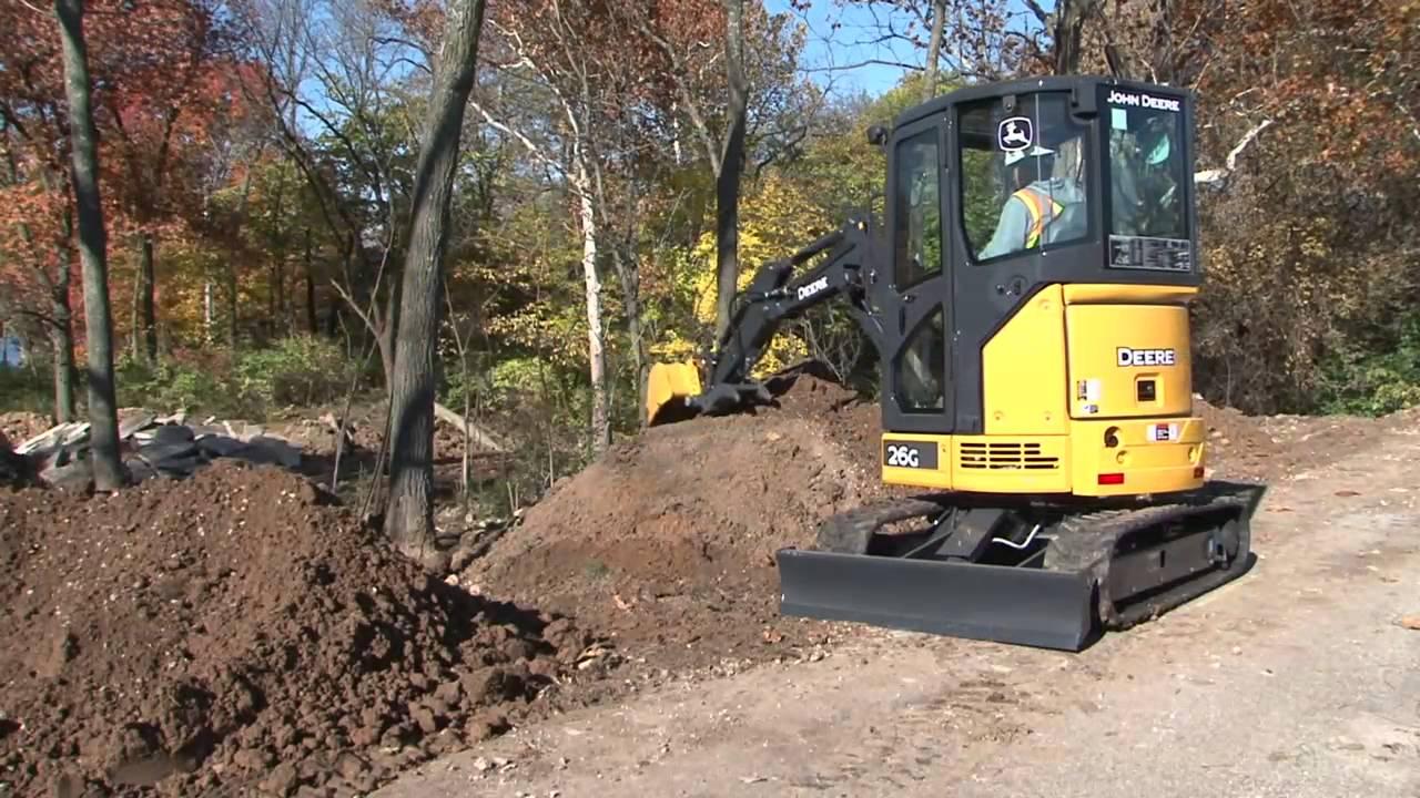 Compact Excavators - Schmidt Equipment, Inc