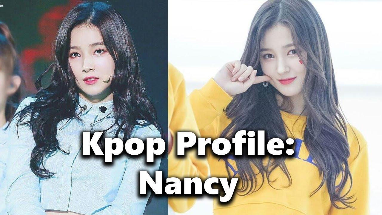 Kpop Profile - Nancy of Momoland - YouTube