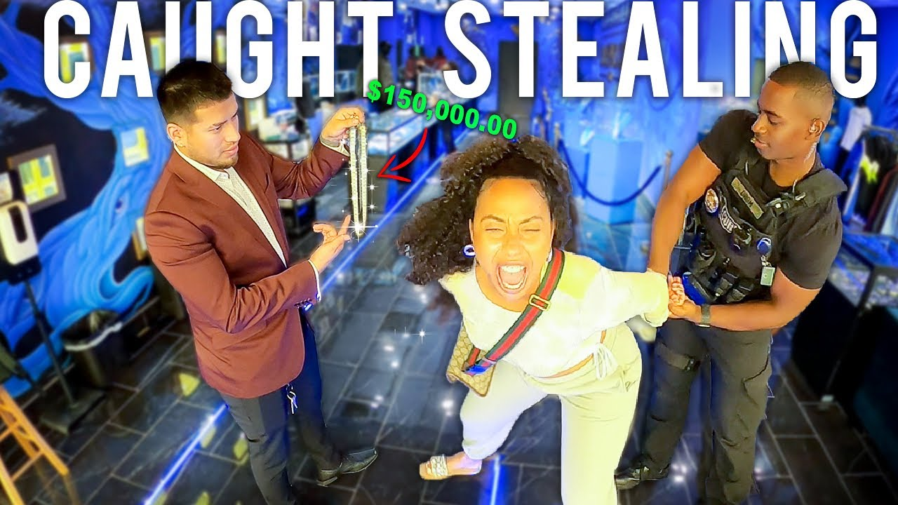 CAUGHT stealing a $60,000 chain!  (GONE TERRIBLY WRONG)