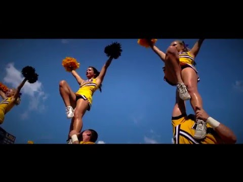 LSU Cheer - College Nationals Hype 2016
