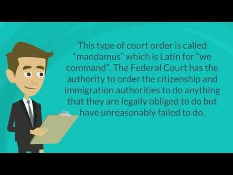 Delayed Cases (Mandamus) - Matthew Jeffery, Toronto Immigration Lawyer