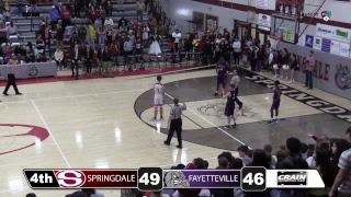 Springdale High School Basketball   Fayetteville @ Springdale