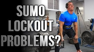 How To Fix Sumo Deadlift Lockout Issues