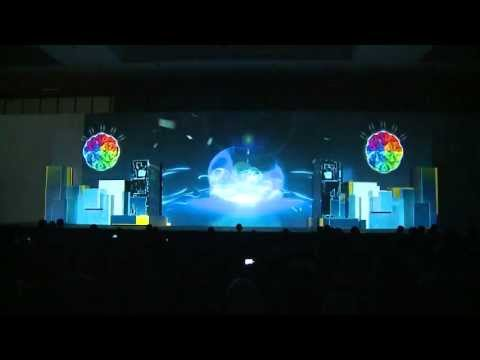 Stage 3D Video Mapping, Product Launching IBM Conference & Exhibition 2012